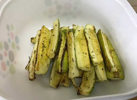 Roasted Zucchini Sticks