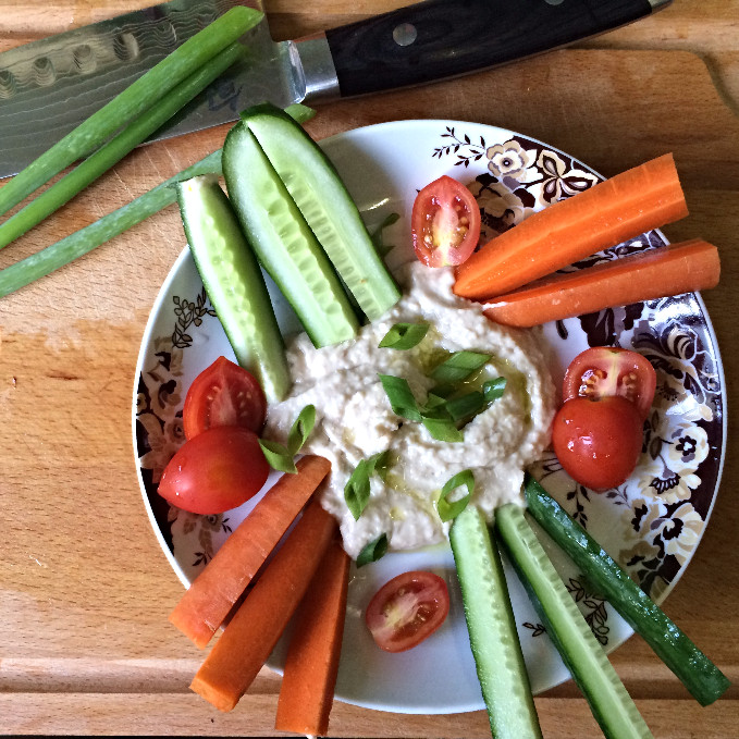 hummus healthy חומוס בריא שועית לבנה