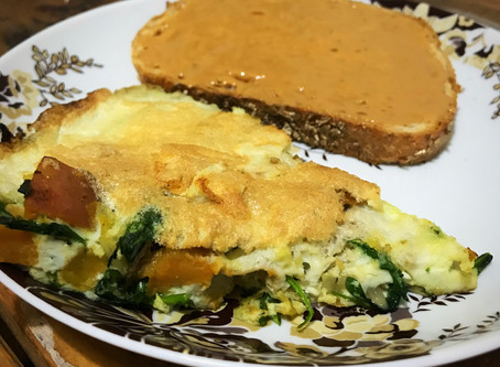 Sweet Potato & Arugula Frittata