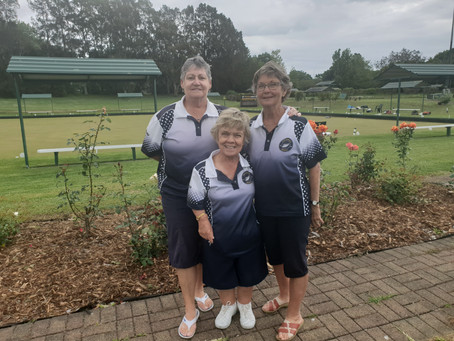 Ladies Club Triples Champs