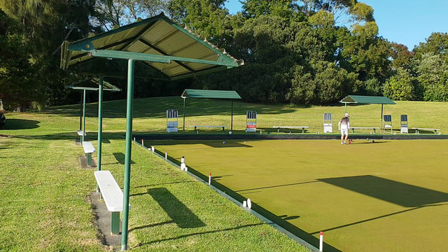 Stunning Morning For Some Bowls...