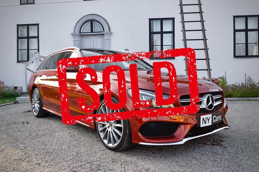 SOLD! Mercedes-Benz C 220d 4matic -18