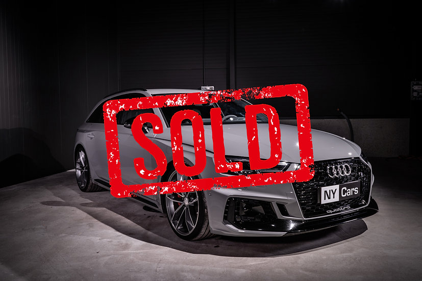 SOLD! Audi RS4 -18