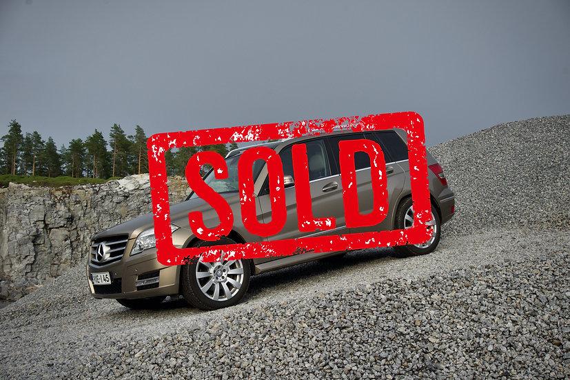 SOLD! Mercedes-Benz GLK 350 -10