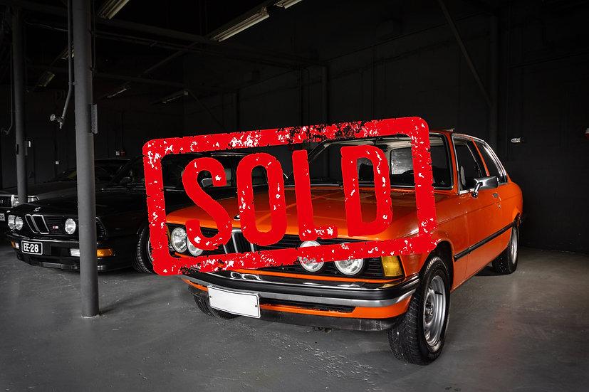 SOLD! BMW E21 320iA -76