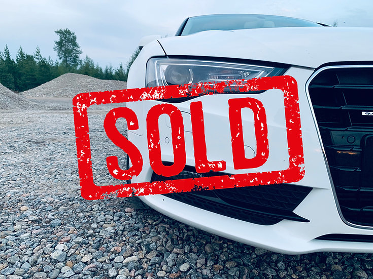 SOLD! Audi A5 -12