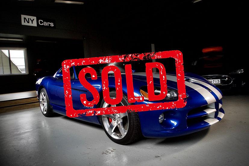 SOLD! Dodge Viper SRT10 -06