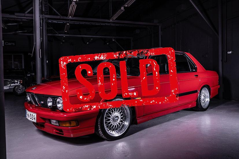 SOLD! BMW E28 M535i -87