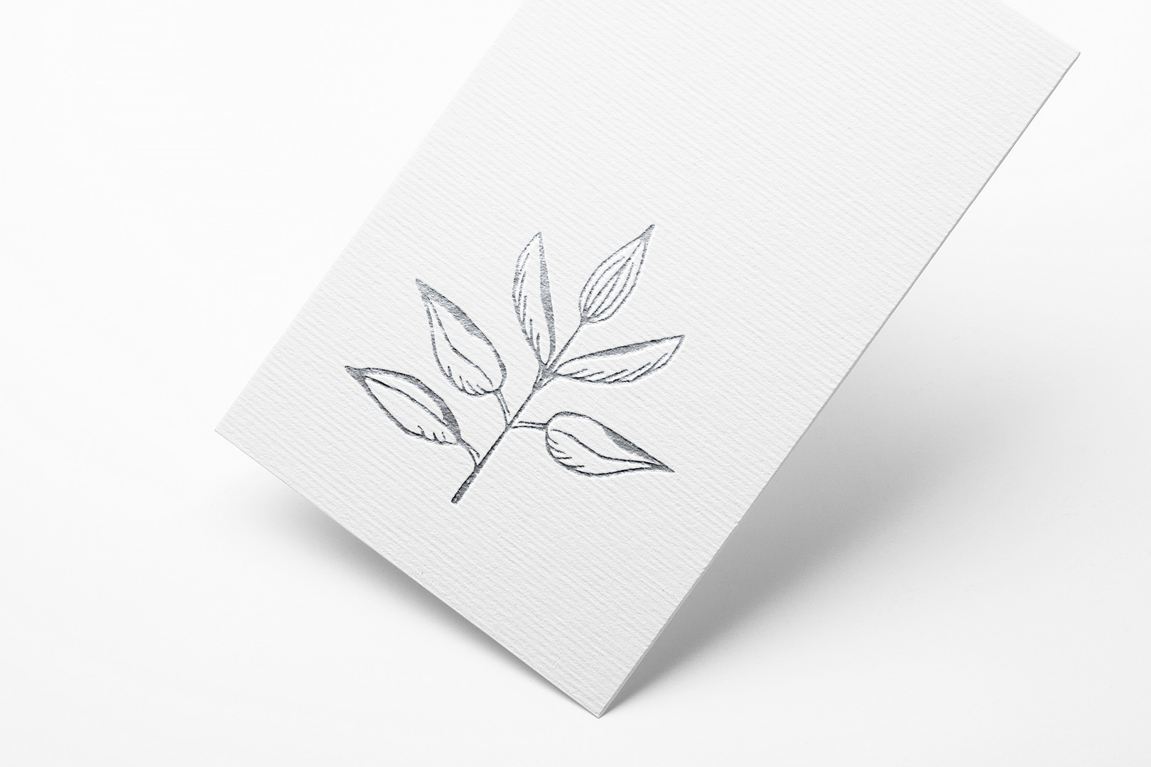 Metallic Foil Logo Mock Up