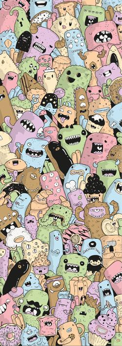 greedy monsters
