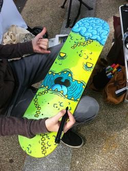 zombie board fise