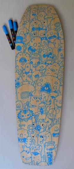 custom board bamboo