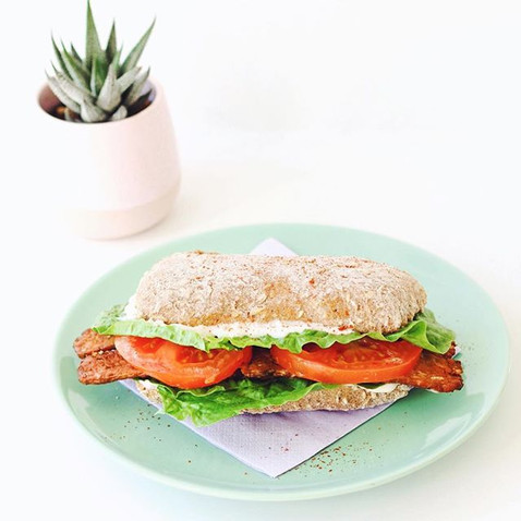 Breakfast Tempeh BLT available Monday th