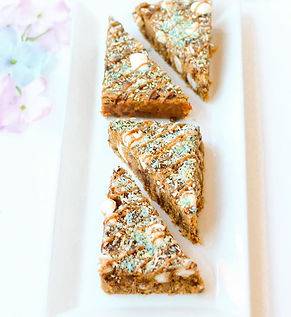 Rainbow Blondies are back! Packed with v