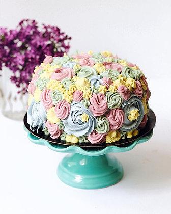 Rosette Reef Layer Cake