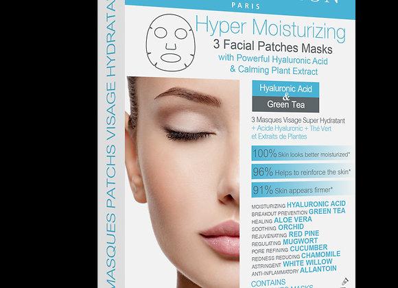 Hyper Moisturizing Facial Mask 高度保濕注水面膜 (藍)