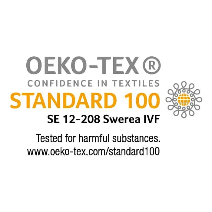 Certified By Oeko-Tex
