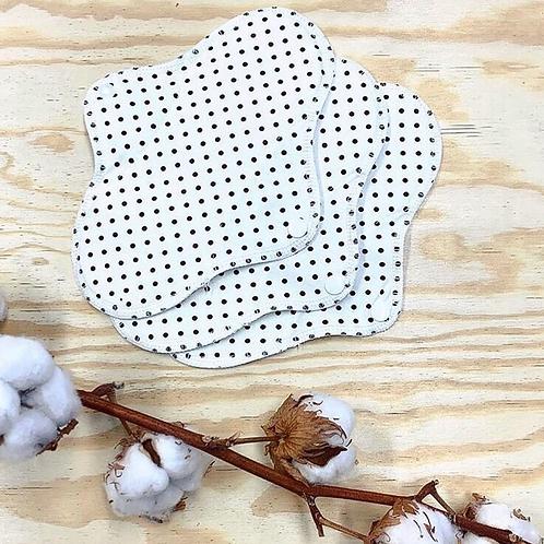 Eco Pads  Slim - 100% Organic Cotton Jersey - 3 Pack
