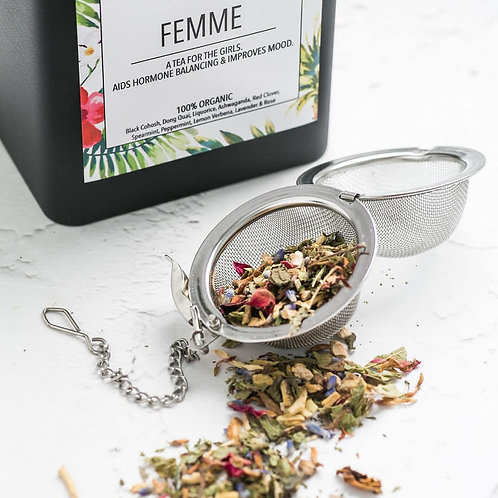 Femme Tea - Aids Hormone Balancing & Improves Mood