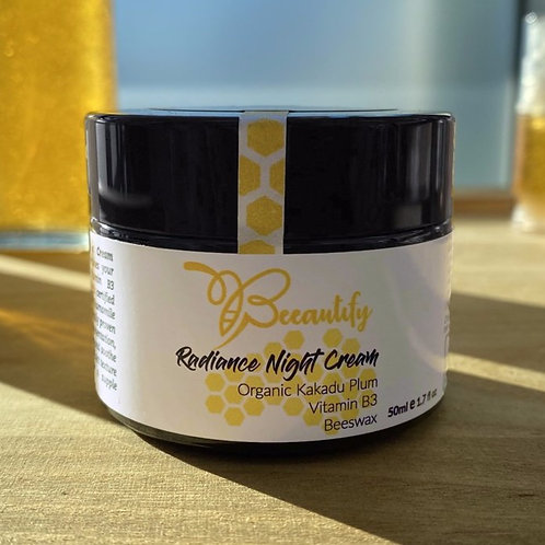Radiance Night Cream - By Beeautify