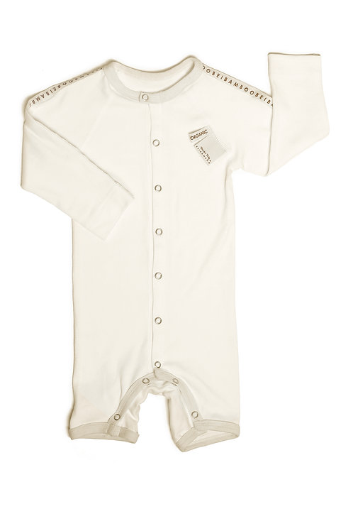 Baby Romper Beibamboo Organic 3-7 Months