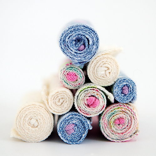Eco Tampons - 100% Organic Cotton Flannel - 8 Pack