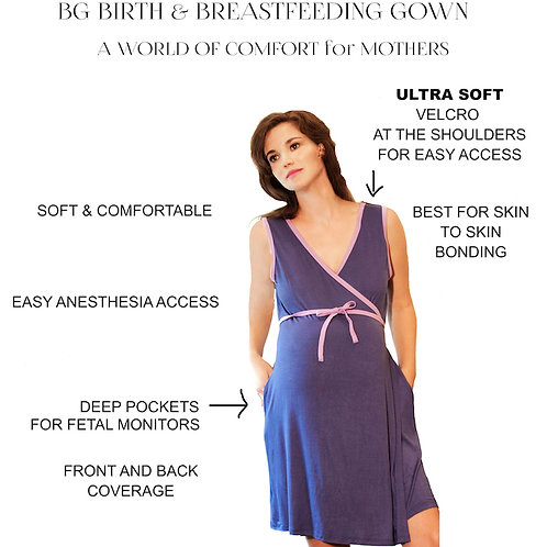 BG Breastfeeding, Birth & Bonding Gown