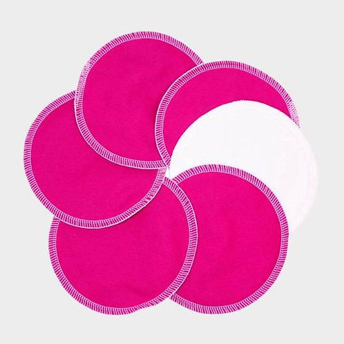 Nursing Pads Reusable - 100% Organic Cotton - 3 Pairs