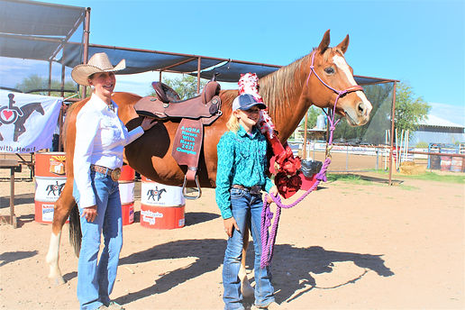 1st Place winner Horse w most heart and AQHA Rep (002).JPG