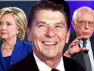 Clinton, Sanders, and the end of Reagan