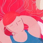 赤髪の少女