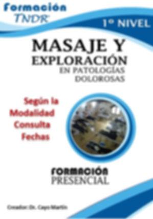 Curso Presencial Exploración y Masaje TNDR