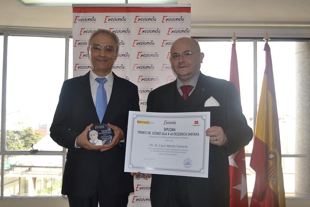 Premio 2019 Excelencia Sanitaria Profesional Dr. Gómez Ulla