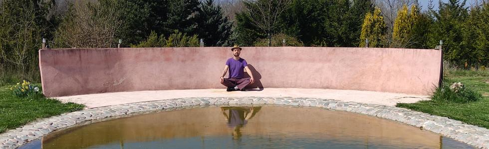 Meditación en el lago