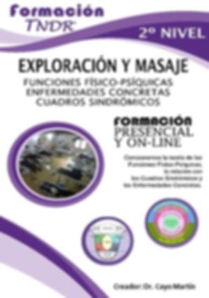 2º Nivel Exploración y Masaje TNDR, Funciones físico-psíquicas, enfermedades concretas ycuadros sindrómicos.