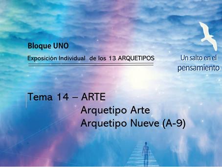 TEMA 14: ARTE. Arquetipo Arte. Arquetipo Nueve (A-9)