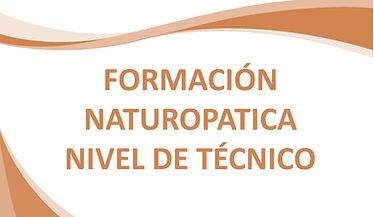 Formación Naturopática Nivel de TecnicoG