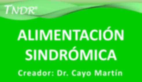 Curso Alimentación Sindrómica TNDR