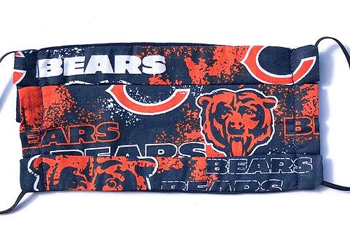 Bears Print Face Mask