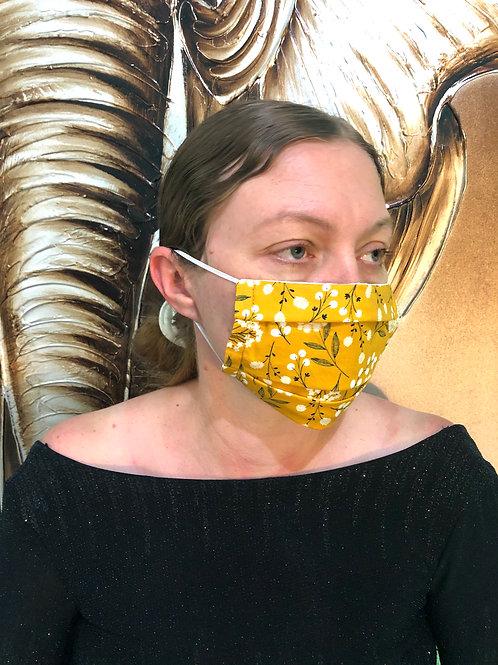 Dandelion Print Face Mask