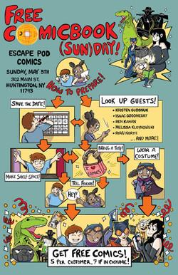 Free Comicbook (Sun)Day Promo