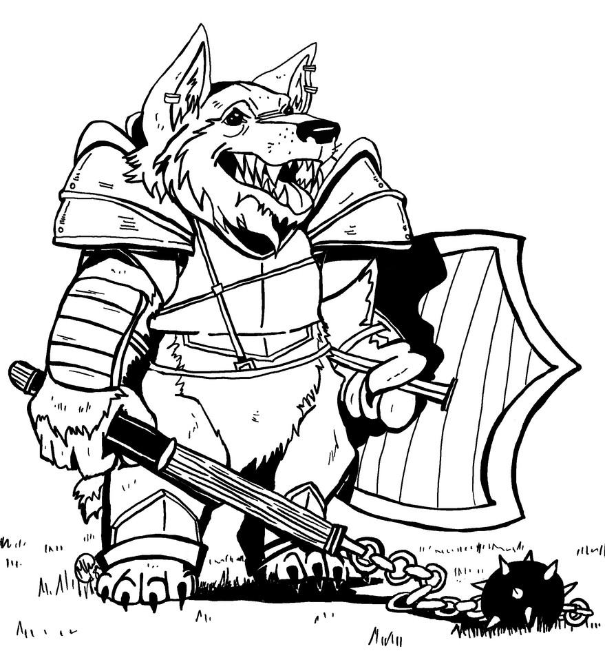 D & D Character Design Commission