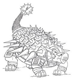 Ankylosaurus Paladin