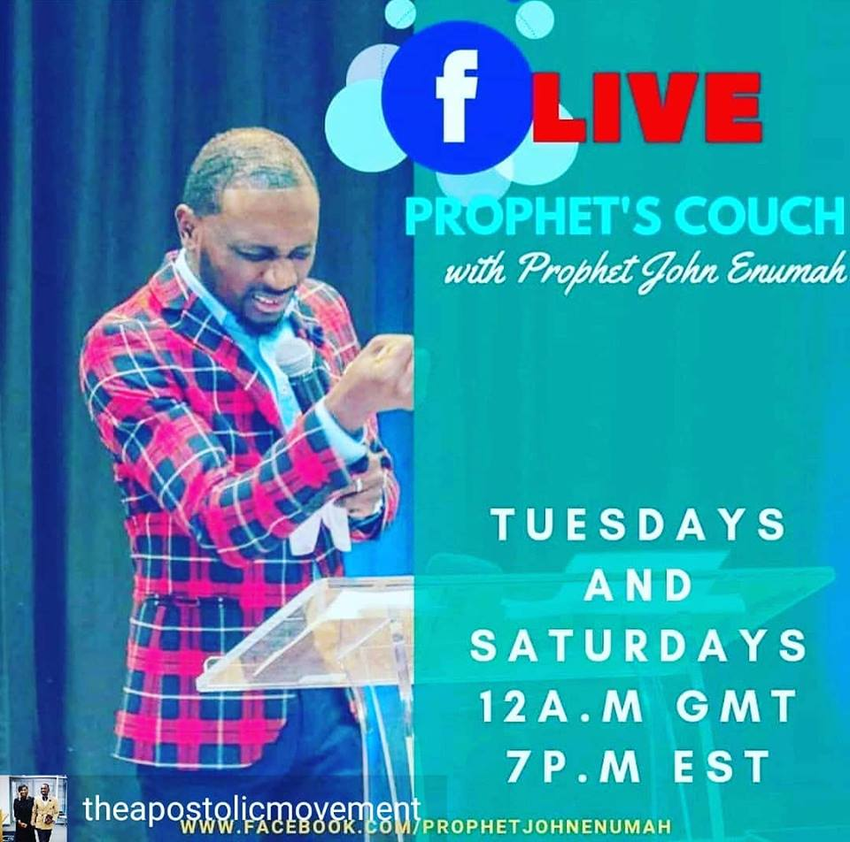 prophets Couch