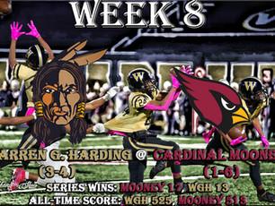Week 8- Warren G. Harding (3-4) @ Youngstown Cardinal Mooney (1-6)