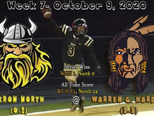 Week 7- Akron North (0-2) @ Warren G. Harding (3-3)