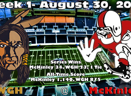 Week 1 Game Preview- Warren G. Harding @ Canton McKinley