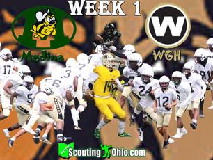 Week 1- Medina (0-0) @ Warren G. Harding (0-0)