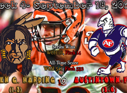 Week 4- Warren G. Harding (1-2) @ Austintown Fitch (3-0)