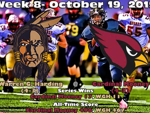 Week 8 Game Preview- Warren G. Harding (4-3) @ Youngstown Cardinal Mooney (4-3)
